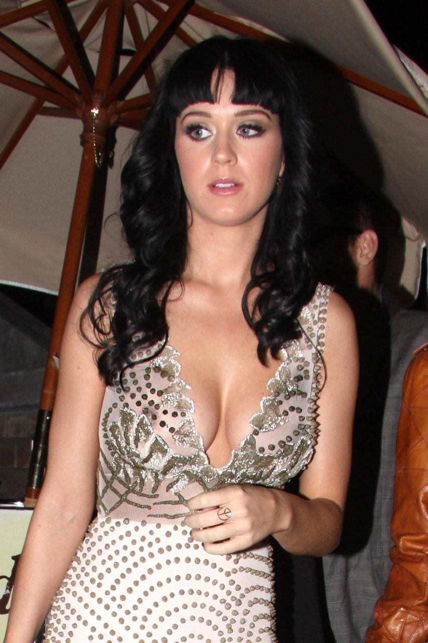 Derin göğüs dekolteli sexy elbisesi ile yürekleri ağza getiren Katy Perry ne kadar iddialı kadın olduğunu kanıtladı. En seksi yabancı ünlü kadınların resimleri için tıklayın.